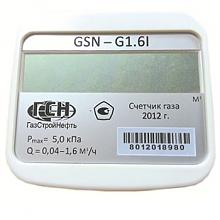 Остановка газового счетчика GSN G1,6 магнитом