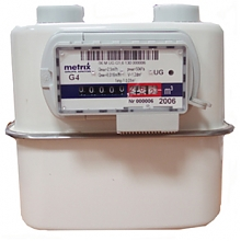 Остановка газового счетчика Metrix G4 магнитом