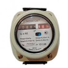 Остановка газового счетчика Новатор магнитом