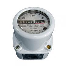 Остановка газового счетчика Омега G4 магнитом