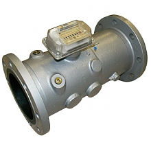 Остановка газового счетчика СТГ магнитом