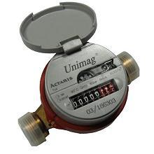 Остановка счетчика воды Unimag магнитом