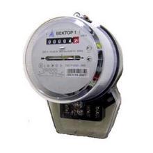Остановка электросчетчика Вектор 1 магнитом