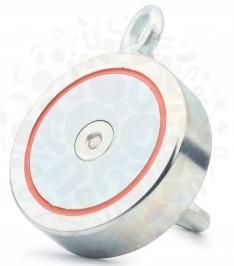Поисковый неодимовый магнит Редмаг двухсторонний F600-2 (800кг) купить в Украине